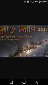 Looking for 2 harry potter transfigured town tickets