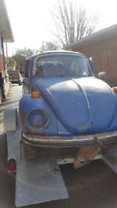 Beetle part out car going for scrap