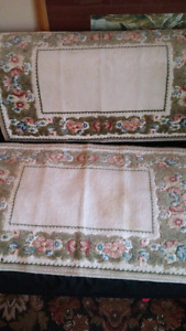 Beautiful small rugs  brand new other lightly used