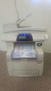 Xerox Phaser 8560MFP PRINTER SCANNER FAX COPYING MULTIFUNCTION