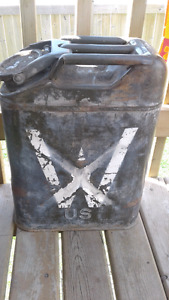 Antique Willys fuel can, GREAT shape!!