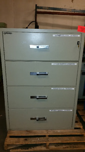 Gardex ( Beige) 4 bearing drawers Fire Proof File Cabinet