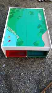 Train table for kids