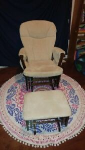 Rocking Chair & Ottoman - $90 Excellent Condition