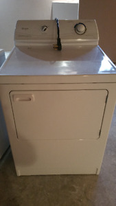 Washer and dryer pair, must pick up
