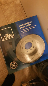 Brake rotors compatible with 2008 Challenger
