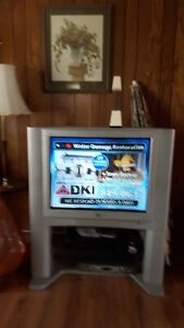 JVC TV WITH STAND