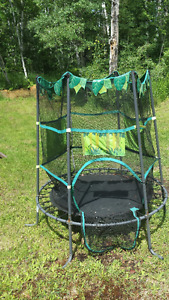 Childrens small trampoline