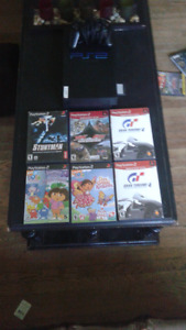 PS2 6 Games And Remote