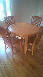 Solid Wood 5 Piece Dining Set!!!