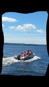 Bowrider (Boat motor and trailer)
