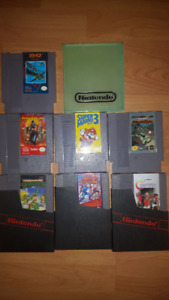 various NES games