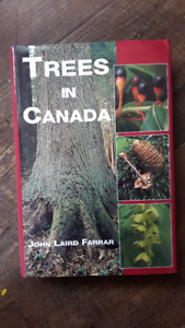 Trees  in Canada (hardcover), like new