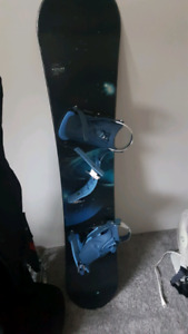 Snowboard bag and boots