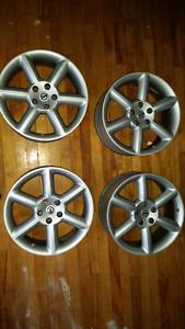 "Nissan 350z 18"" wheels in great condition"