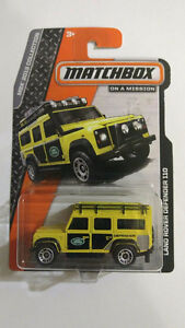 2013 MATCHBOX COLLECTION - ON A MISSION