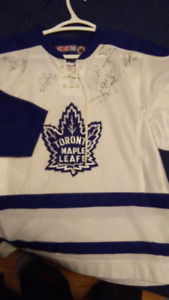 Autographed Toronto Maple Leafs Jersey