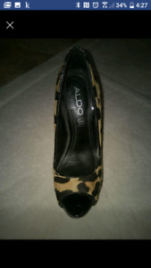 Also pony hair high heels size 5