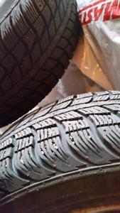 Mags honda avec pneus d'hiver 205/55/R16