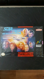 "Star Trek TNG ""Future's Past"" Game Cartridge for Super Nintendo"