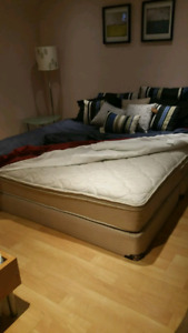 King bed / delivery available