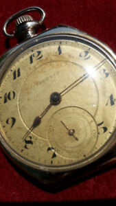 VINTAGE FIDELIS GOLD FILLED POCKET WATCH