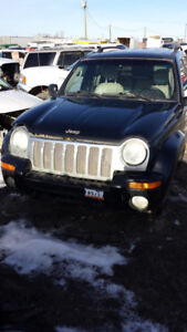 2002 Jeep Liberty 3.7L 4x4 Parts Outing