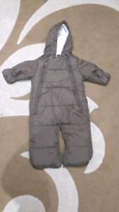 Winter snowsuit for boys from  6 to 12 months