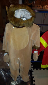 12 to 24 month lion costume