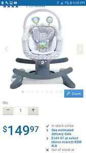 almost brand new fisher-price baby glider