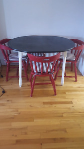 Refurbished dining room table for sale!