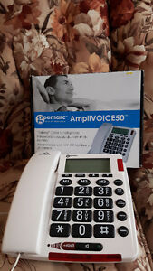 land line phone for elderly or sight impaired