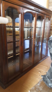 Nice wooden hutch