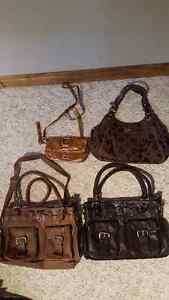 Jimmy Choo and Coach bags for sale !
