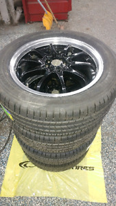 RTX Wheels 17x7 come with set of brand new tires Michelin Energy