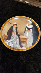 Words of Comfort Norman Rockwell Collectible Plate