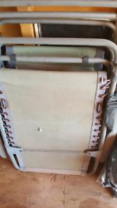 Two zero gravity chairs