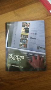 Studying Politics 4th ed. Intro to poli science Text and online