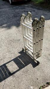 Lite 12'aluminum articulating ladder