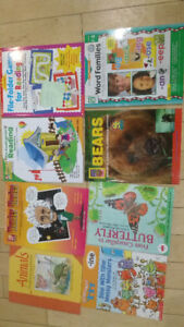 Various educational and homeschool books