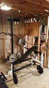 Olimpic weight bench