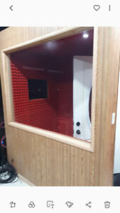 PROFESSIONAL VOCAL BOOTH FOR SALE (WITH TOUCHSCREEN MONITOR)