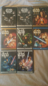 Complete Star Wars trilogy