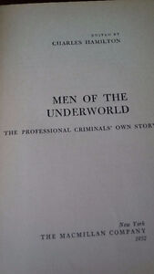 Men of the Underworld, 1952 Kitchener / Waterloo Kitchener Area image 2