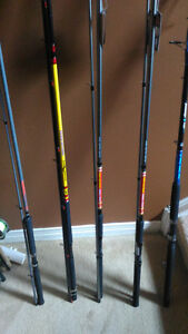 Fishing rods New 16, 14, 12, 10 ft lenght