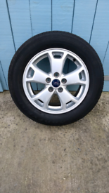 Ford transit connect alloy wheel