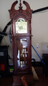 Tall grandfather clock