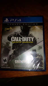 BRAND NEW UNTOUCHED AND SEALED COD LEGACY EDITION||PS4