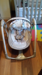 Infant Swing plug in or battery