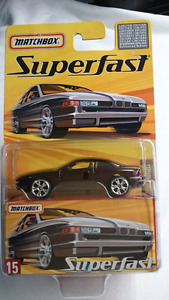 MATCHBOX SUPERFAST #15 DIE CAST BMW 850i MINT